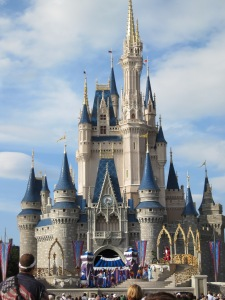 Front of Cinderella's Castle