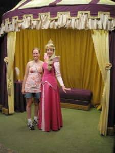 I got to meet Princess Aurora!
